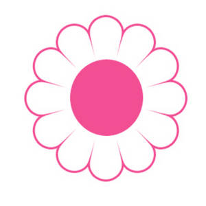 Pink Daisy Flower Clipart Clipart Panda Free Clipart Images