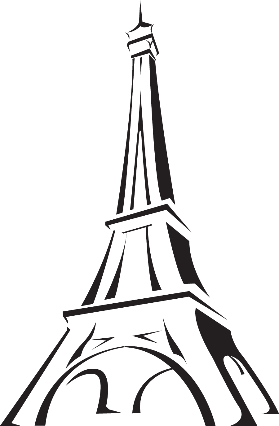 Pink Eiffel Tower Cartoon Free Cliparts That You Can Download To You