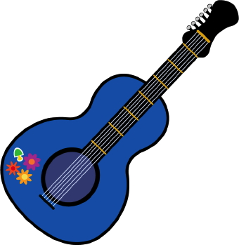Pink Guitar Clipart Free Clipart Images