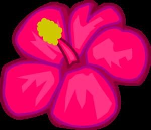 Pink hawaiian flower clip art high quality clip art