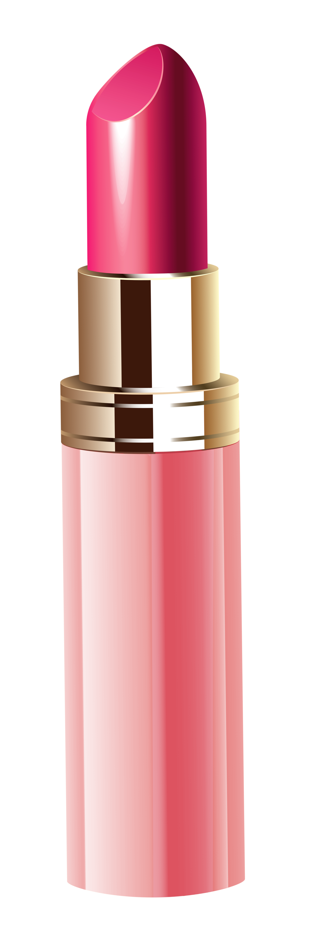 Pink Lipstick PNG Clipart Image