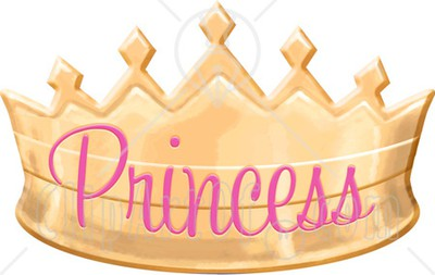 Pink Princess Crown Clipart