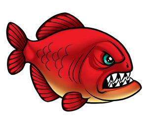 ... Piranha Clip Art Clipart - Free Clipart ...