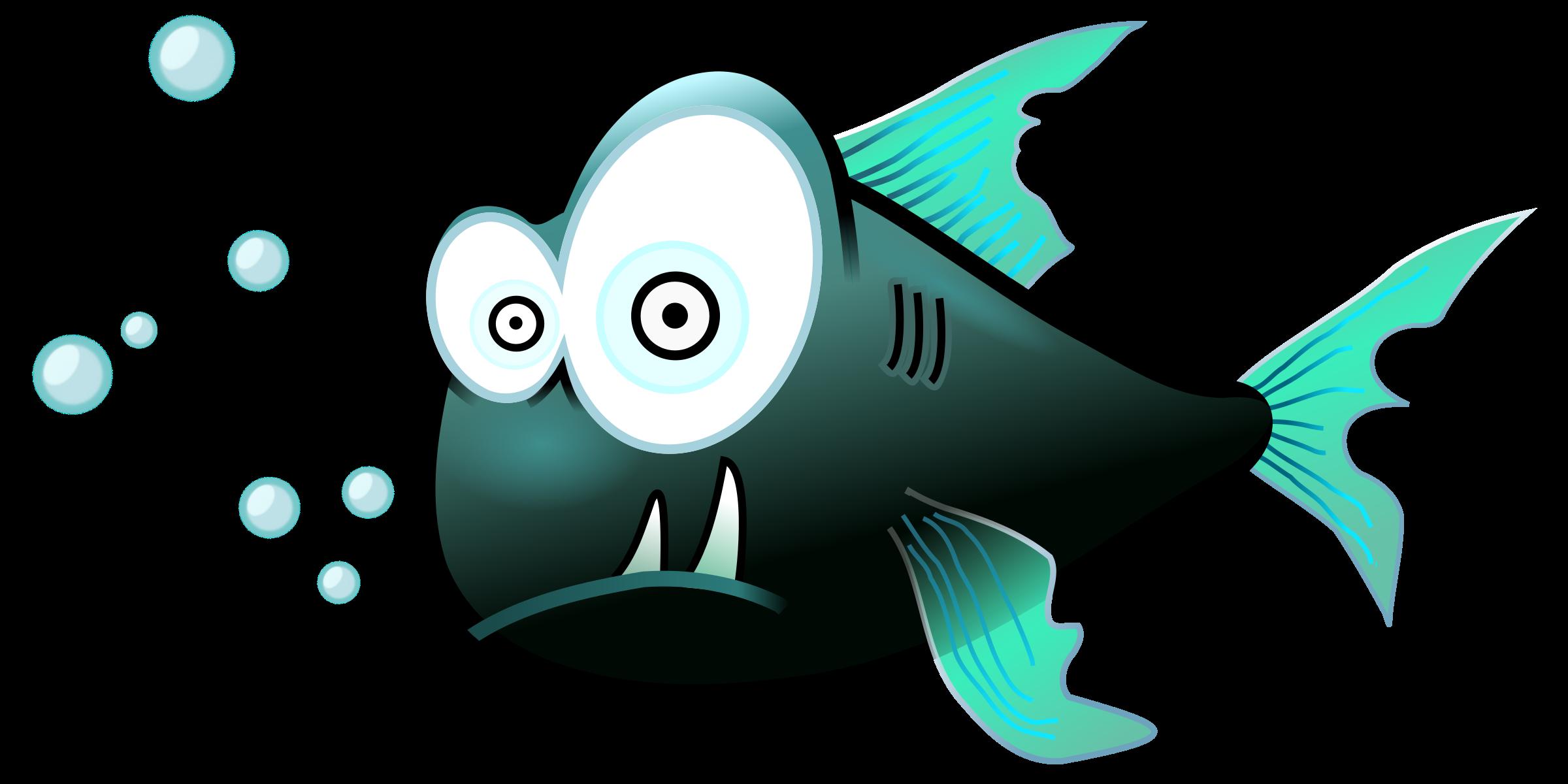 Clipart piranha