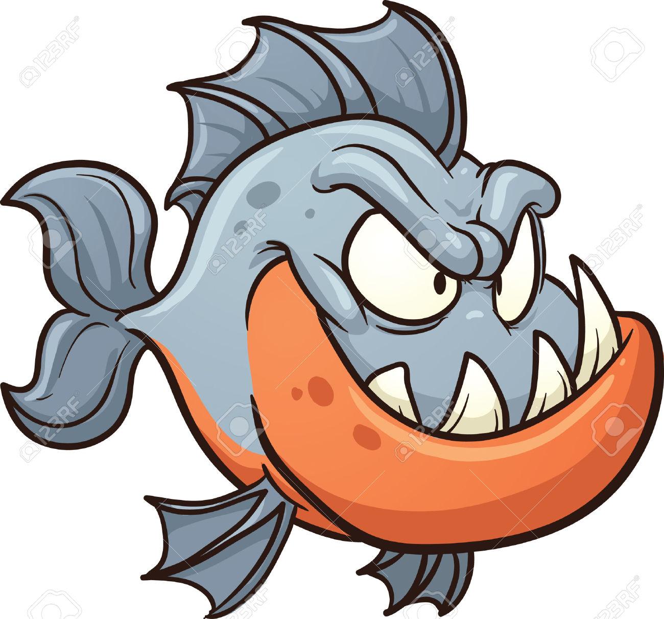 Piranha Clipart #1