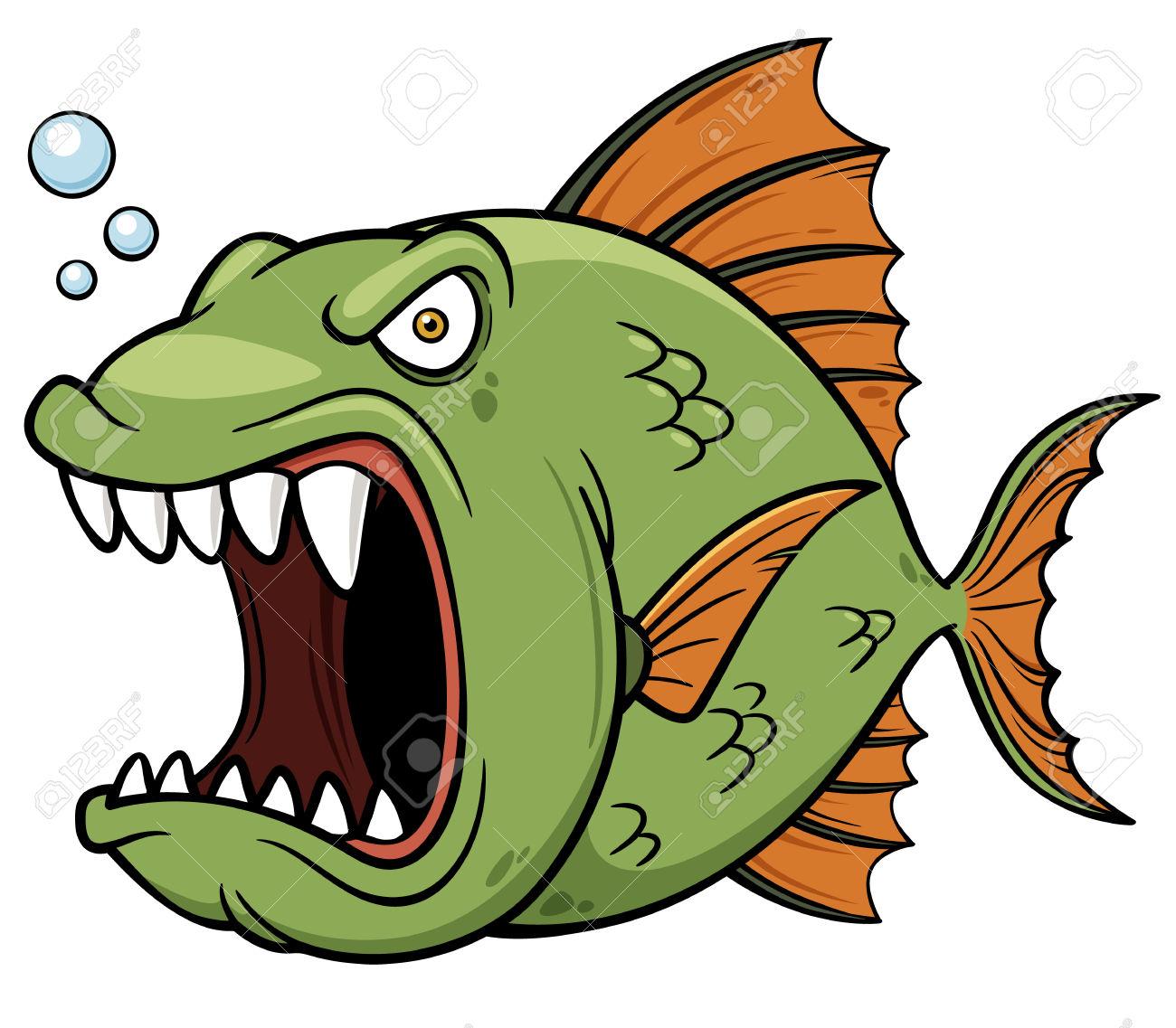 Piranha Clipart 11