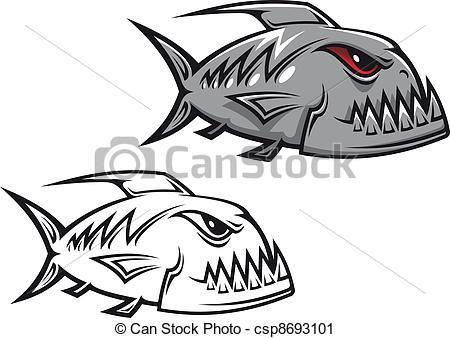 Piranha Clipart 15