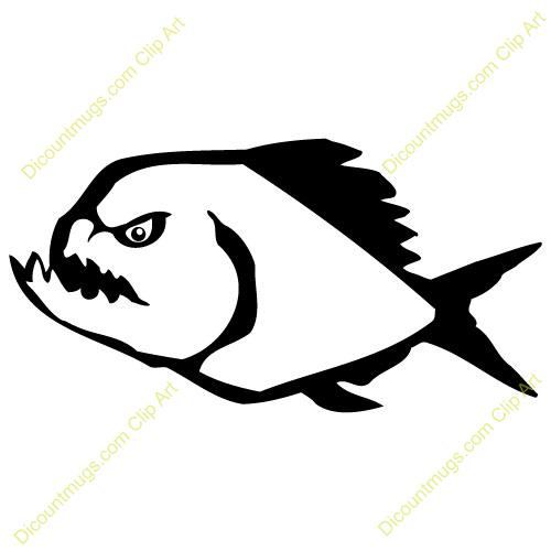 Piranha Clipart 4