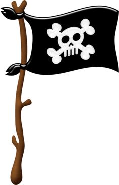 cutepictures u2014 альбо - Pirate Flag Clipart