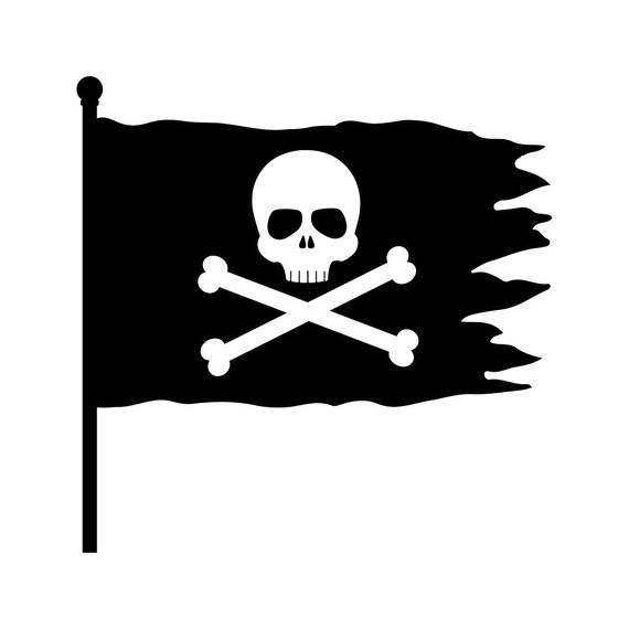 image 0 - Pirate Flag Clipart