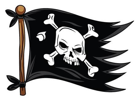 pirate flag - Pirate Flag Clipart