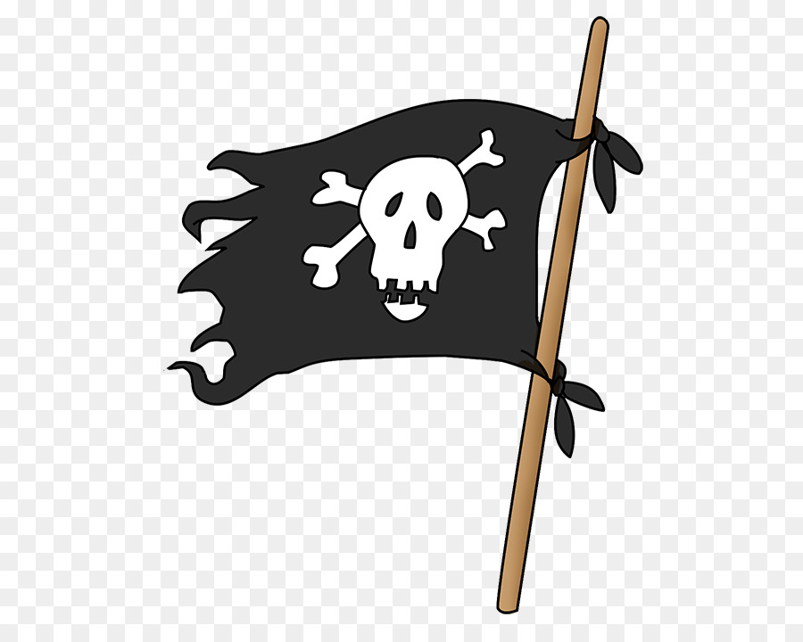 Skull u0026 Bones Piracy Jolly Roger Clip art - Pirate flag PNG