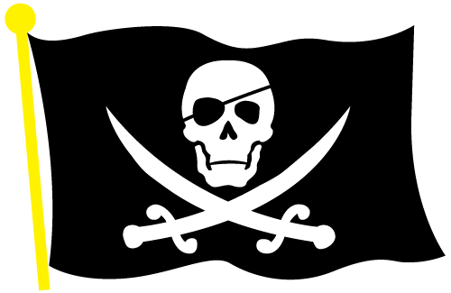 Vector Pirate Flag Clip Art By ZombiePoppa Hdclipartall.com