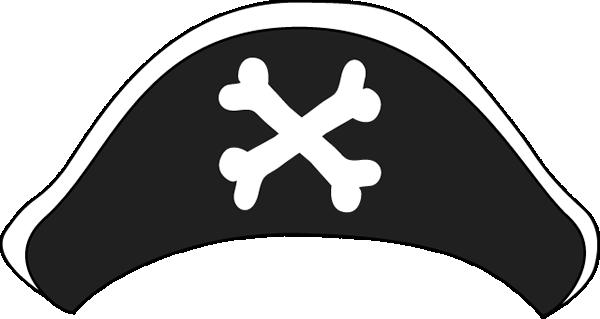 Pirate Hat Clip Art Image .