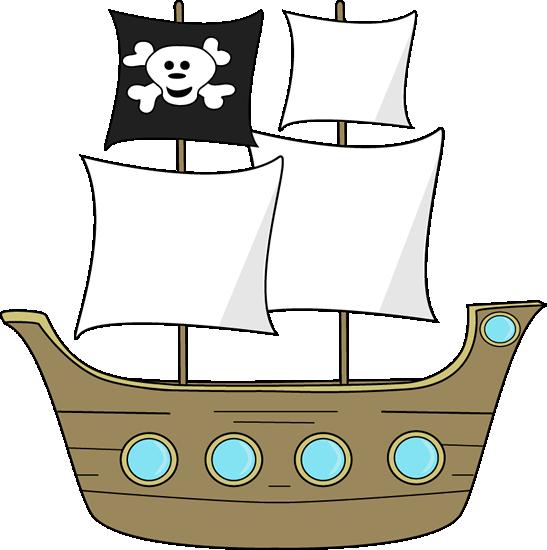 Pirate Ship Clip Art - Pirate Ship Image
