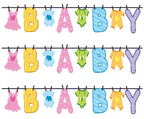 Pix For Baby Shower Borders. Baby Boy Clip Art ...