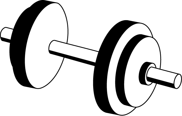 Pix For Dumbbell Clipart Png