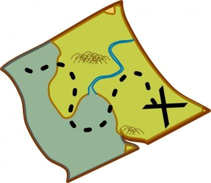 Pix For u0026gt; Adventure Map Clipart