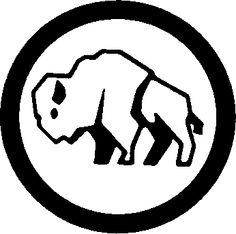 Pix For u0026gt; Bison Clip Art Black And White