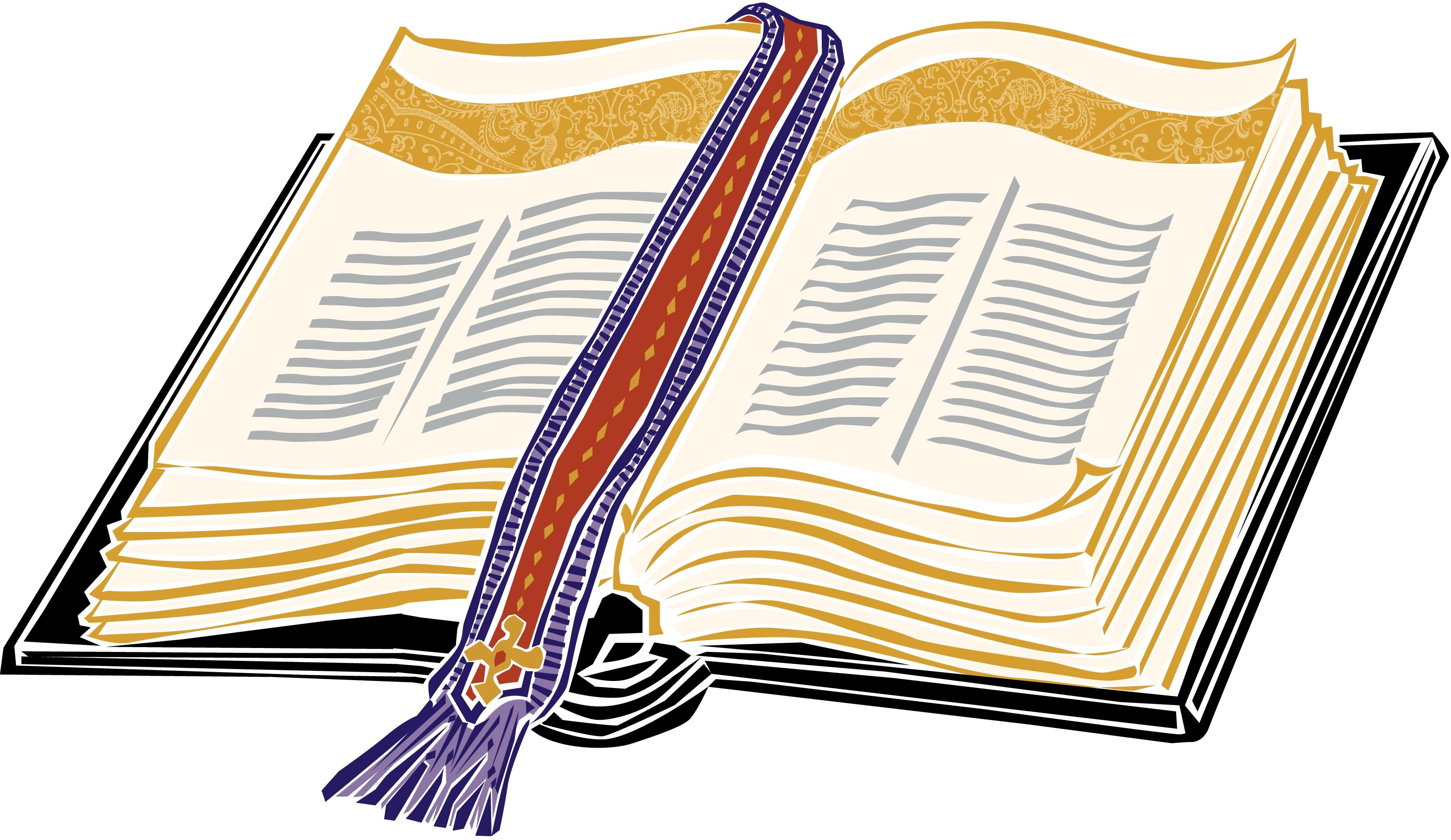 Pix For u0026gt; Open Bible Clipart