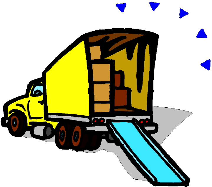 Pix For Were Moving Truck Clipart