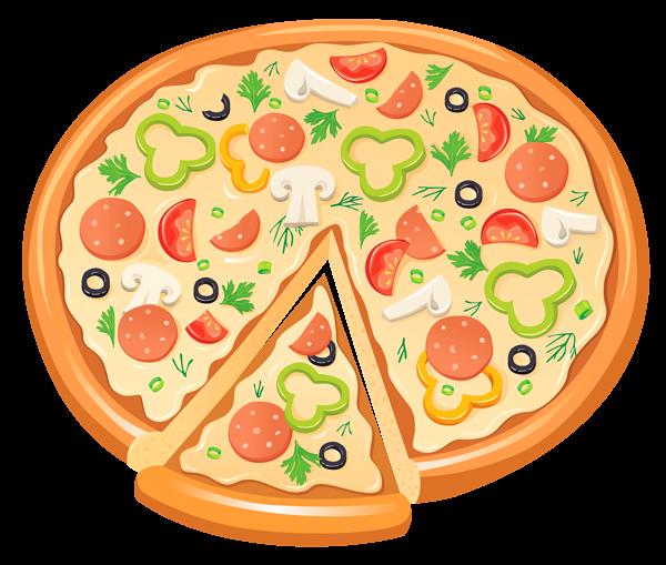 pizza clipart