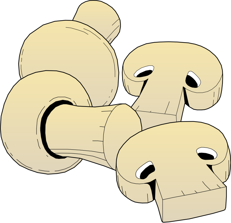 Pizza Mushroom Clipart Mushrooms Clip