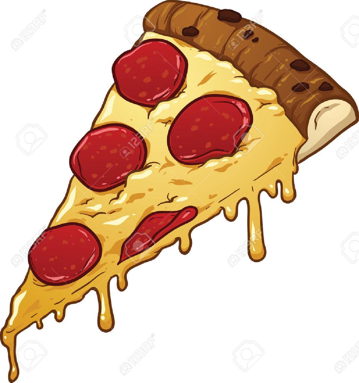 pizza slice. clip art .
