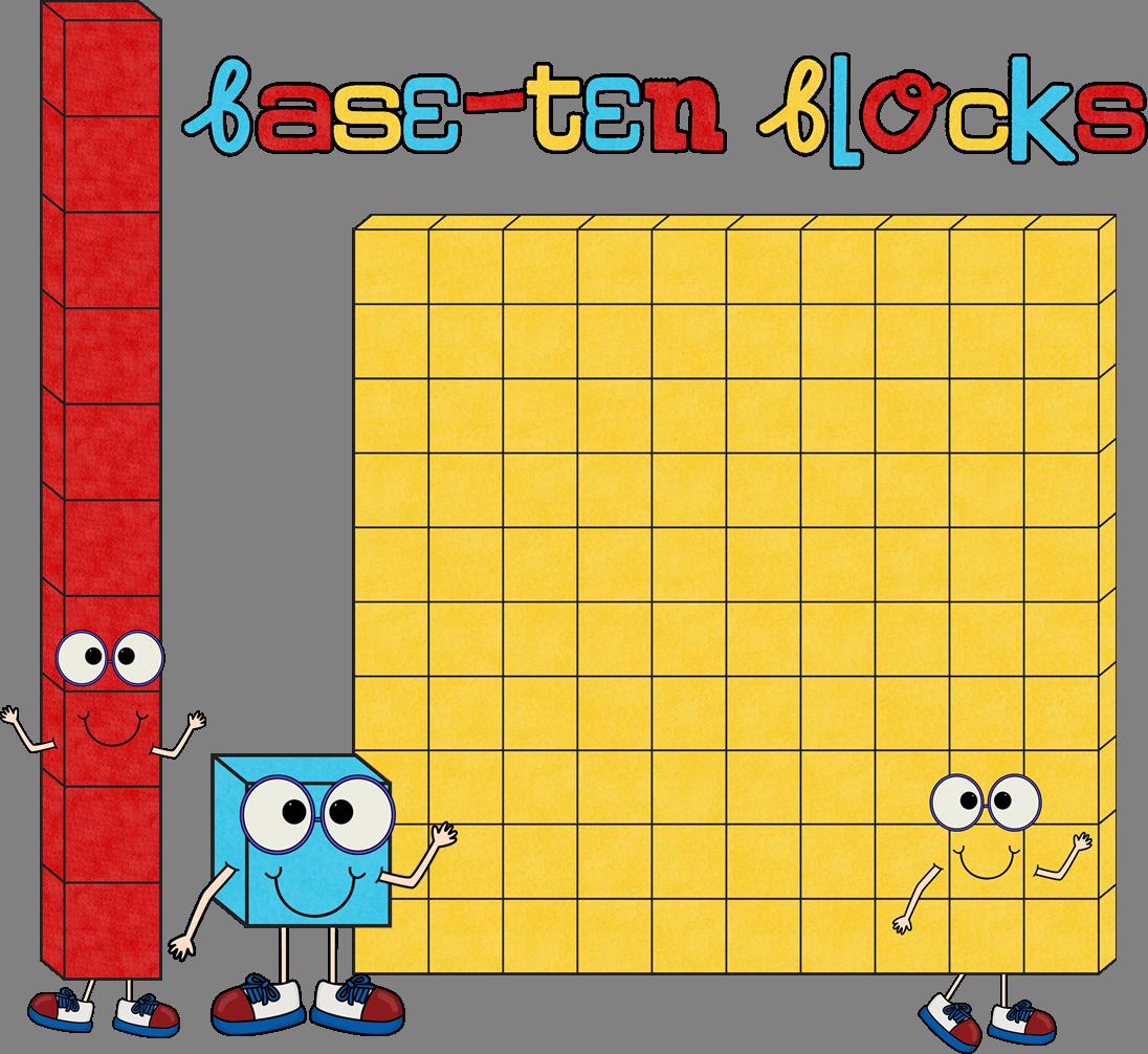 Place Value Cubes Clipart