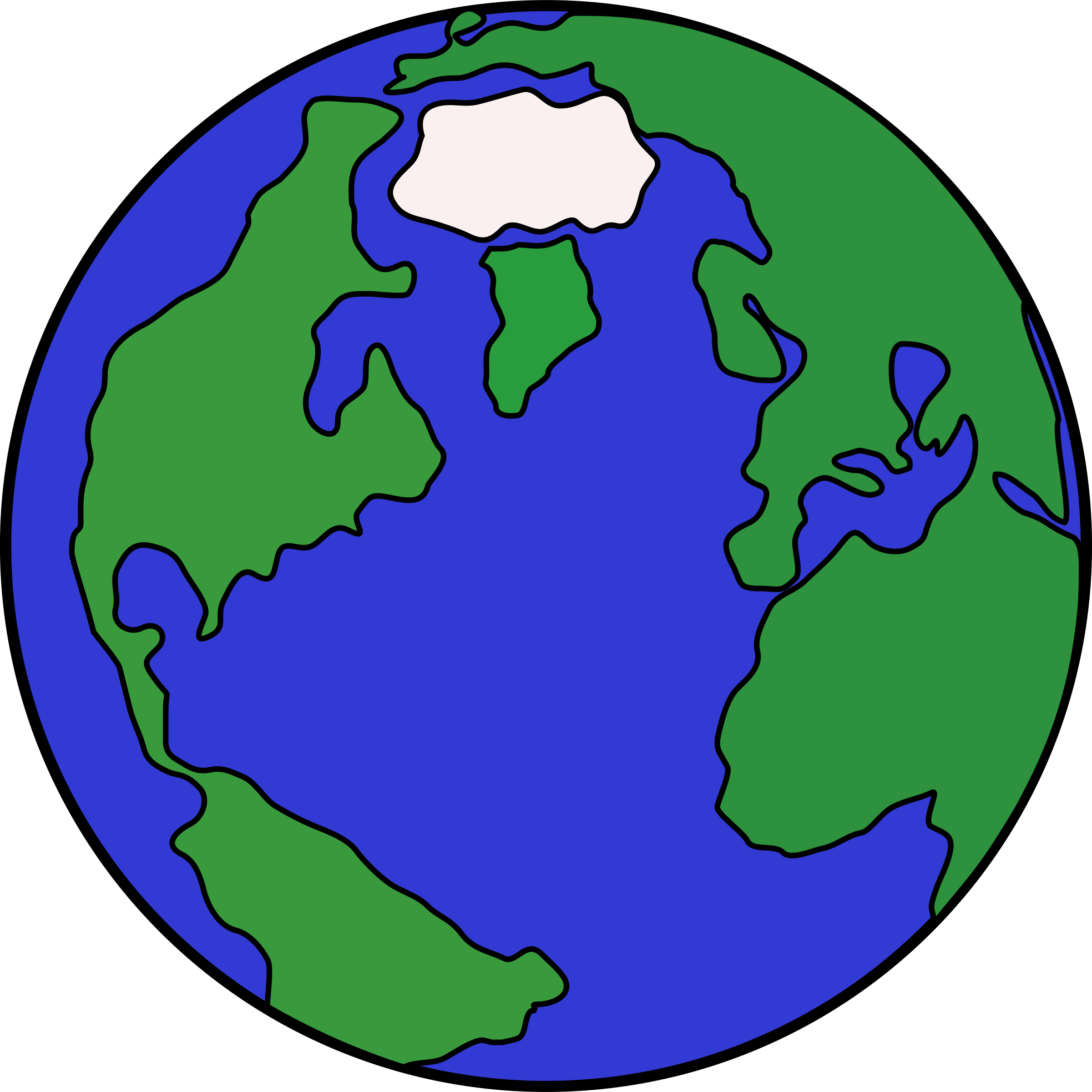 Planet clip art hostted