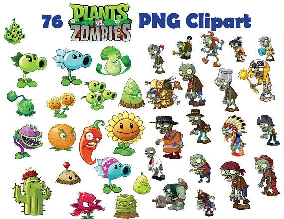 Plants Vs Zombies Clipart-Clipartlook.com-570