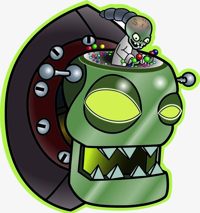 dr. zombie, Plants Vs. Zombies, Zombie PNG Image and Clipart