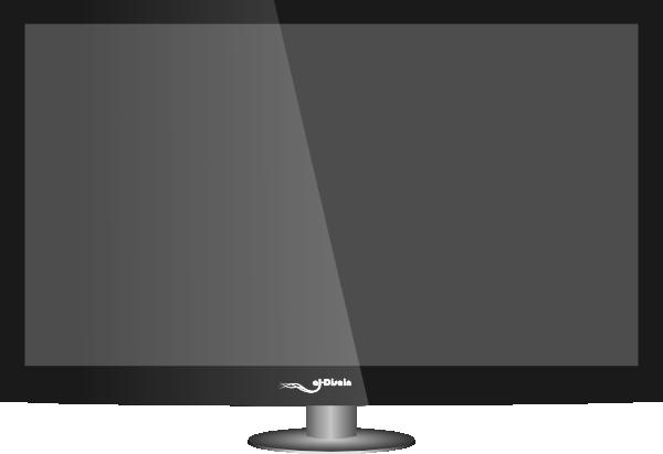Plasma Tv Clip Art At Clker Com Vector Clip Art Online Royalty Free