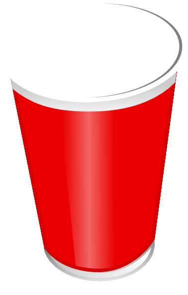 plastic cup clipart