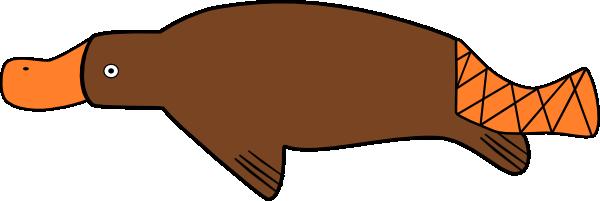Platypus Clip Art At Vector Clip Art Online Royalty