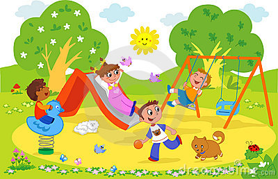 Park clipart playground #1