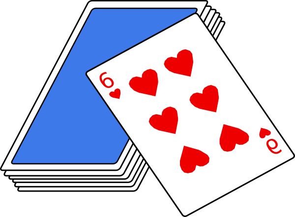 Playing Cards Clipart .