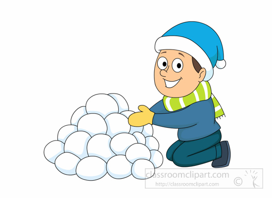 playing-in-pile-of-snowballs-116-clipart playing in pile of snowballs clipart. Size: 88 Kb From: Weather