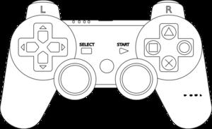Playstation Controller Clip Art