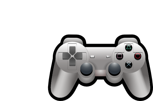 Playstation Controller Clipart #1