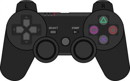 Playstation Gamepad clip art