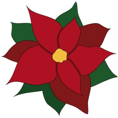 Poinsettia Clip Art Free - Clipart library