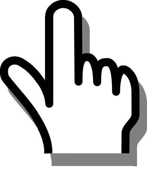 Pointing Finger Clip Art At Clker Com Vector Clip Art Online