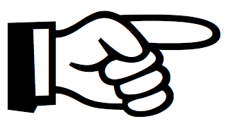 Cartoon Pointing Finger Clipart