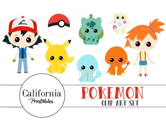 Pokemon Clipart