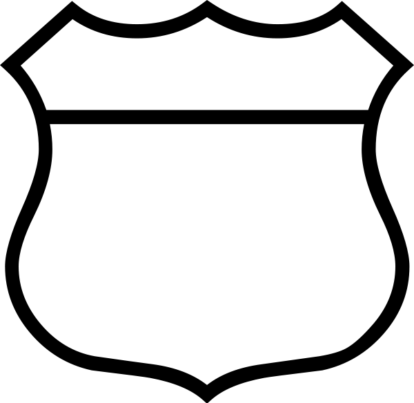 Police Badge Clipart Black And White Clipart Panda Free Clipart
