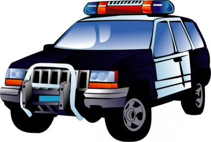 Police car clip art free vector in open office drawing svg 2