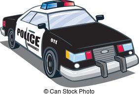 police car Clipartby yupiramos1/120; Police Car - Police law man automobile illustration