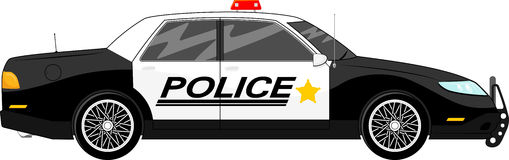 Police car Stock Image