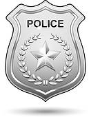 police officers badge ...